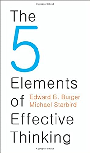 The Five Elements of Effective Thinking Audio Book